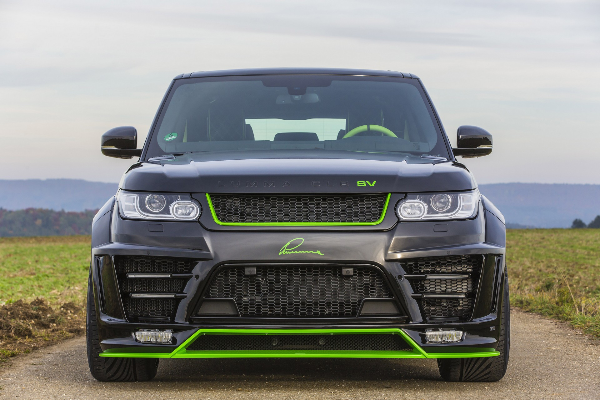 Lumma Clr Sv Body Styling Kit For The Range Rover Sport