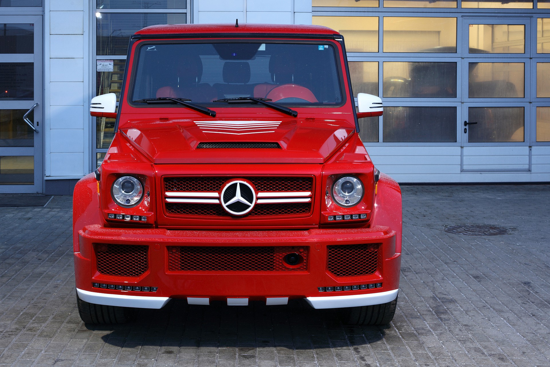 Mercedes Benz G63 Red Topcar