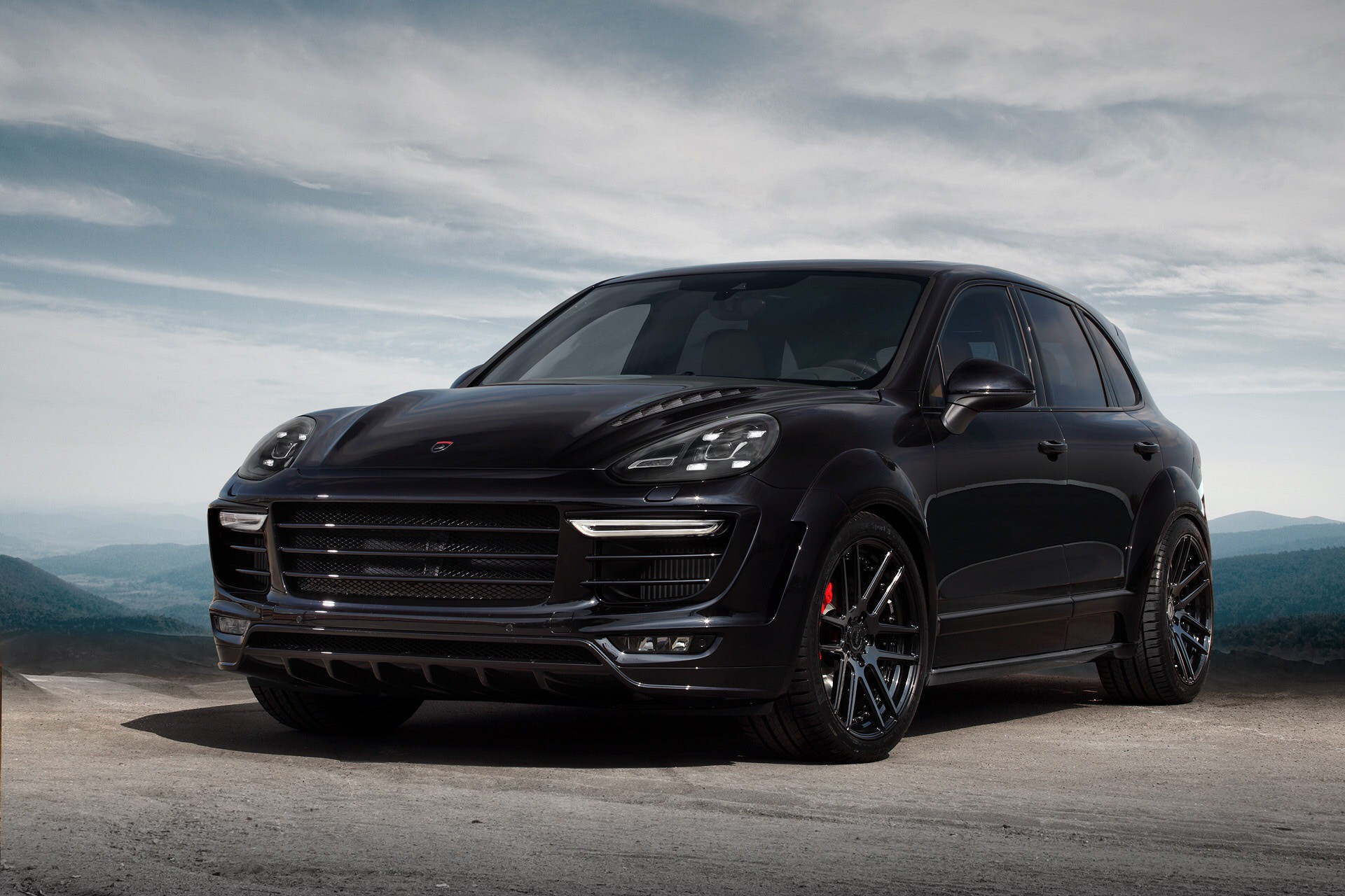 Porsche Cayenne Gt 2015 Black On Black Topcar