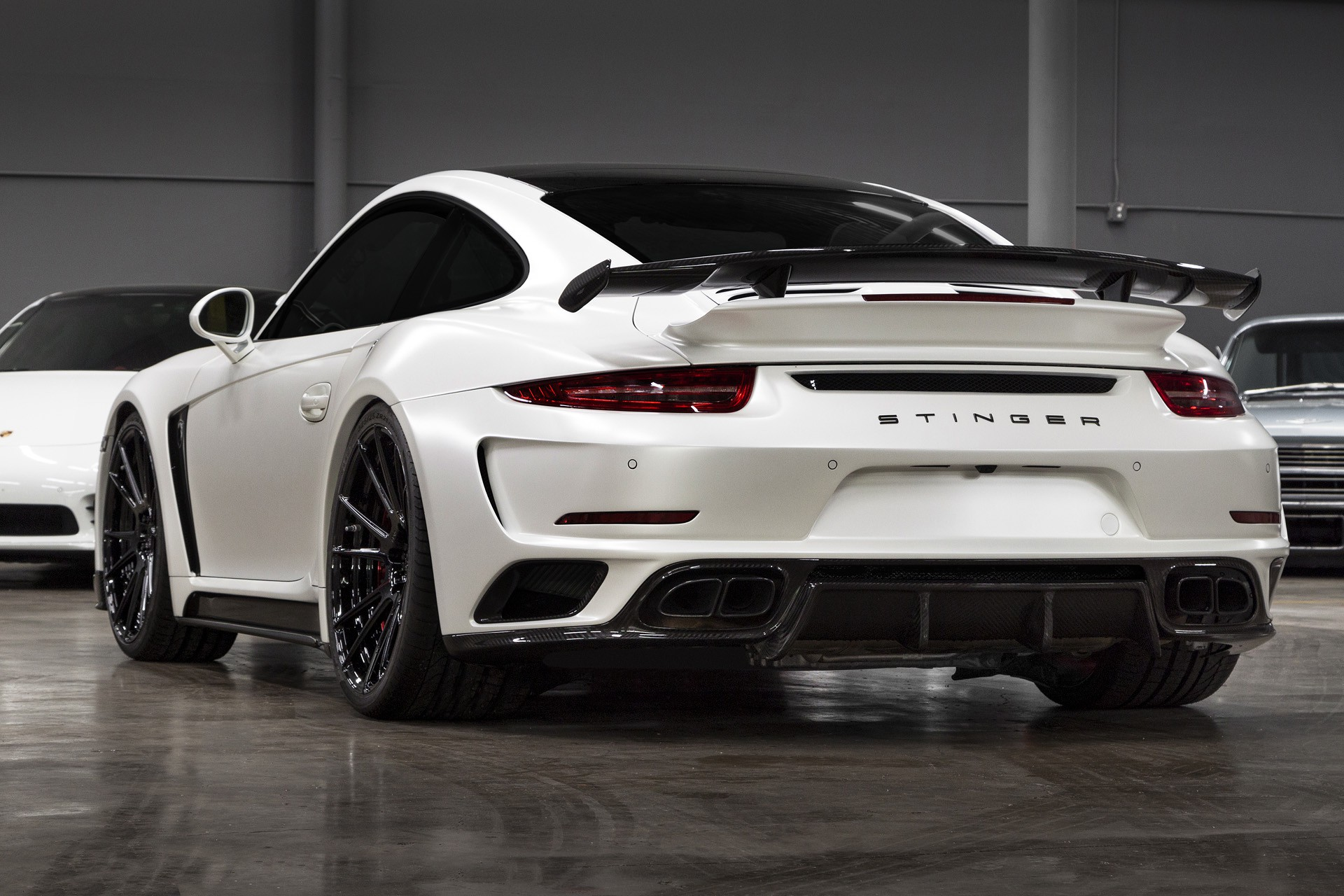 Porsche 991 Turbo S Stinger Gtr Usa Topcar