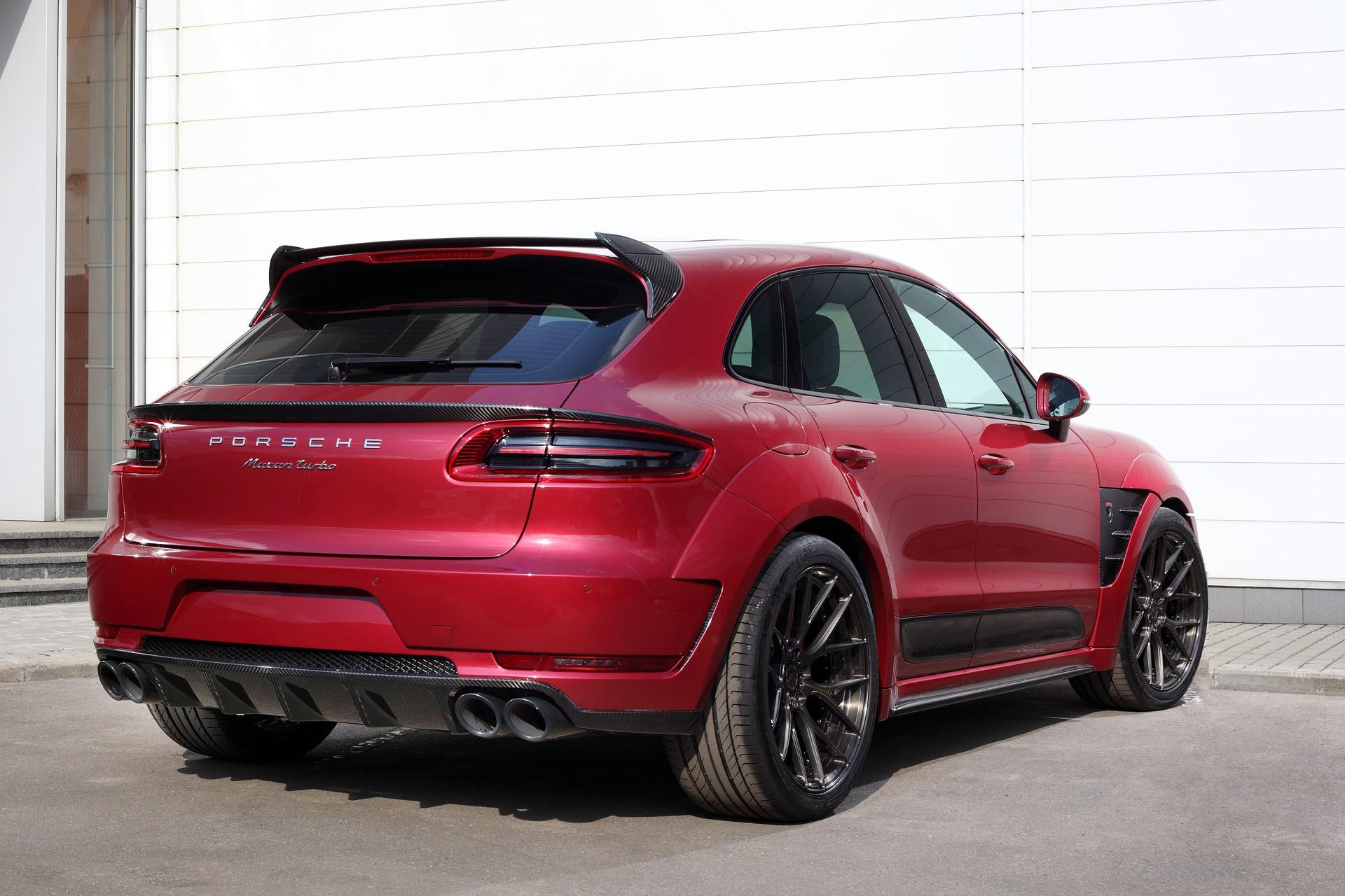 Porsche Macan Ursa Red Topcar