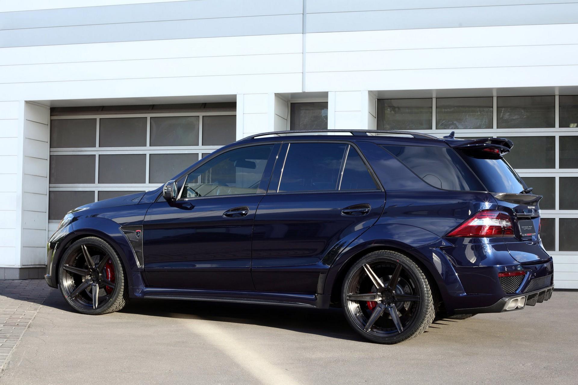 Mercedes benz ml63 inferno dark blue topcar for Mercedes benz partnerships