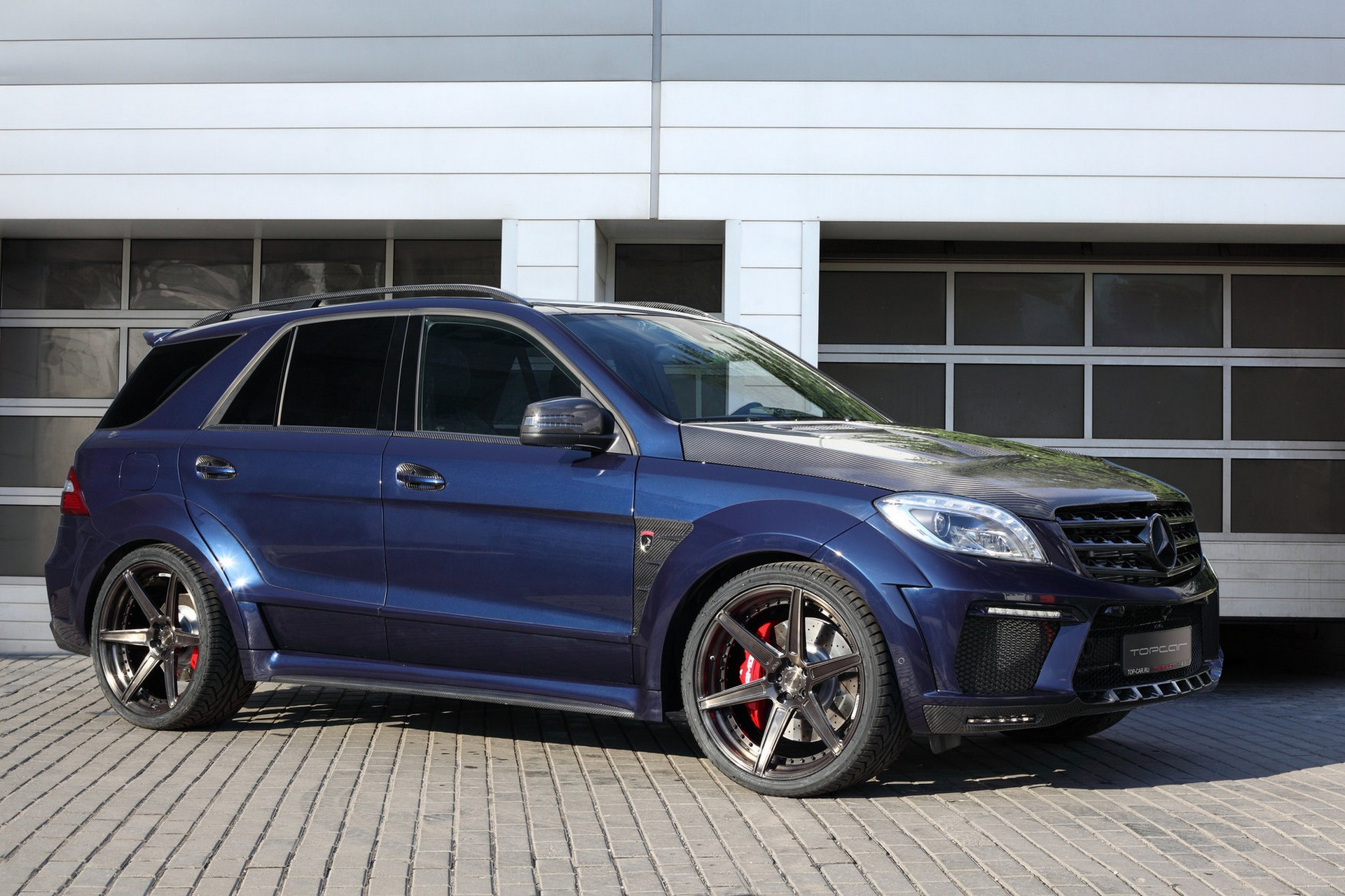 Mercedes Benz Ml63 Inferno Dark Blue Topcar