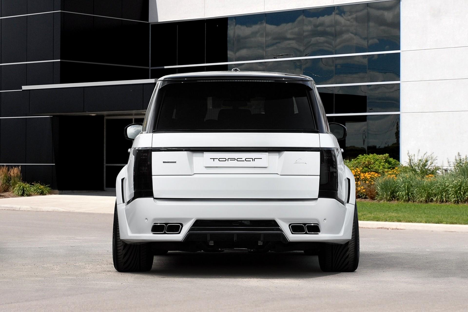 Range Rover Vogue 2013 Lumma Clr R White Topcar