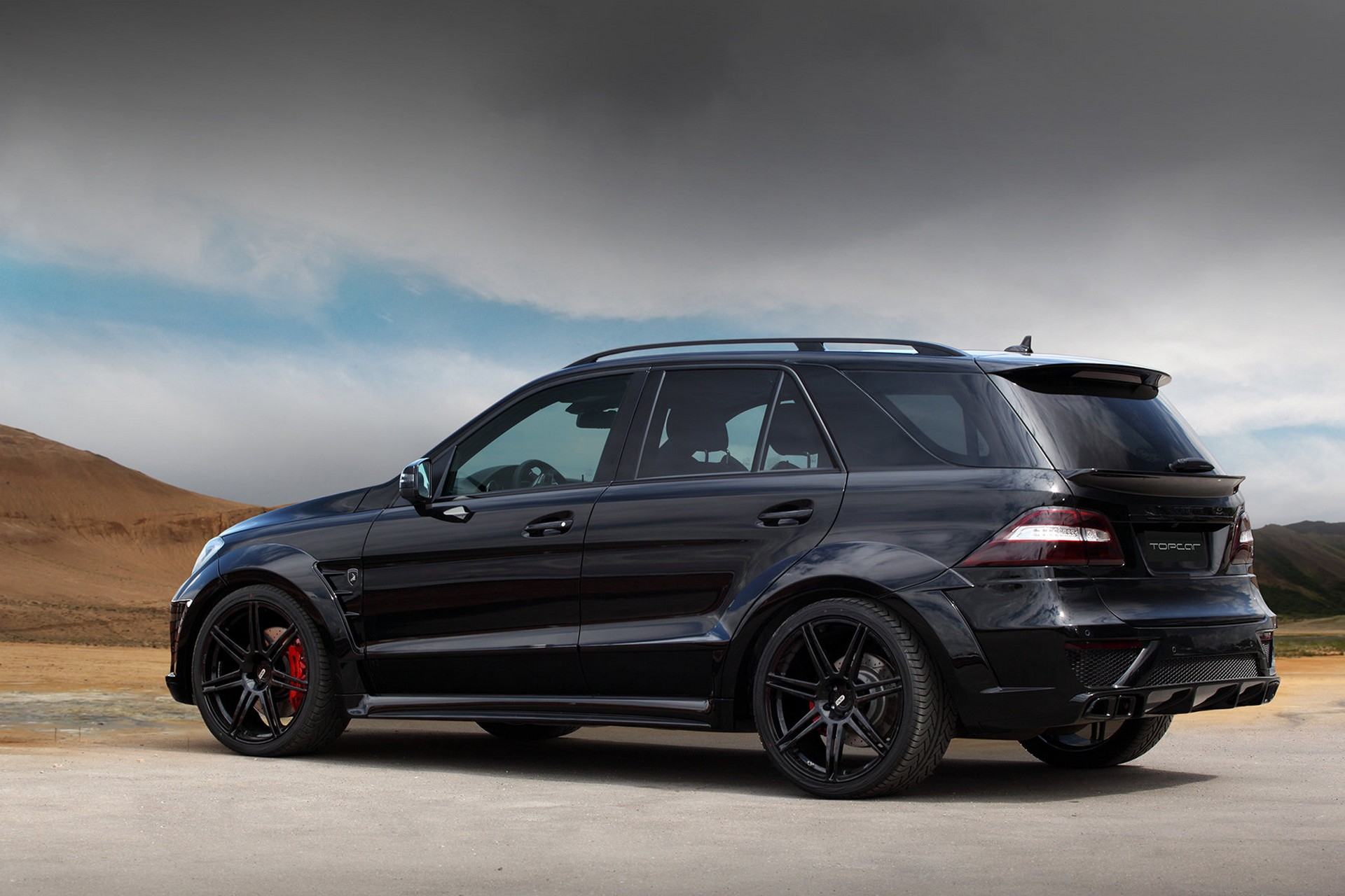 Mercedes benz ml 6 3 amg inferno black topcar for Ml mercedes benz