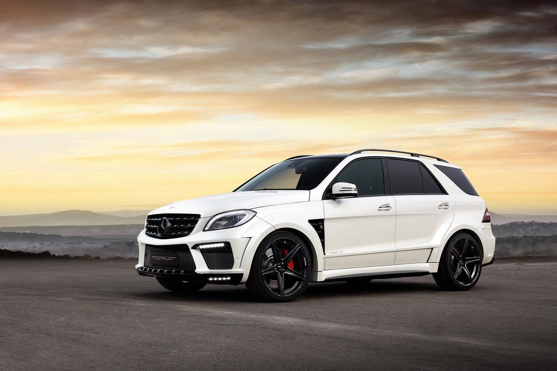 mercedes benz ml w166 6 3 amg inferno white topcar. Black Bedroom Furniture Sets. Home Design Ideas