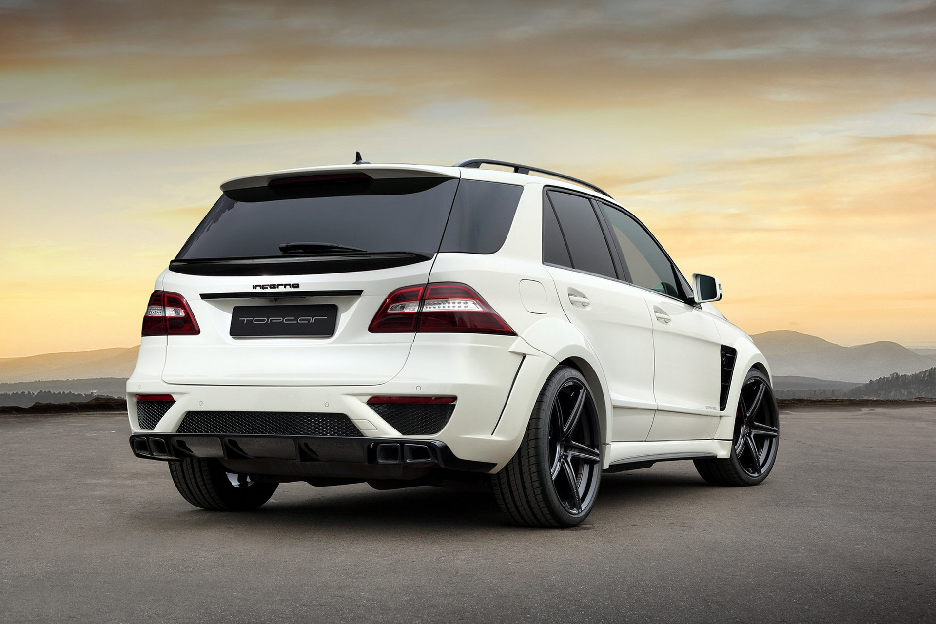 mercedes benz ml w166 6 3 amg inferno white topcar