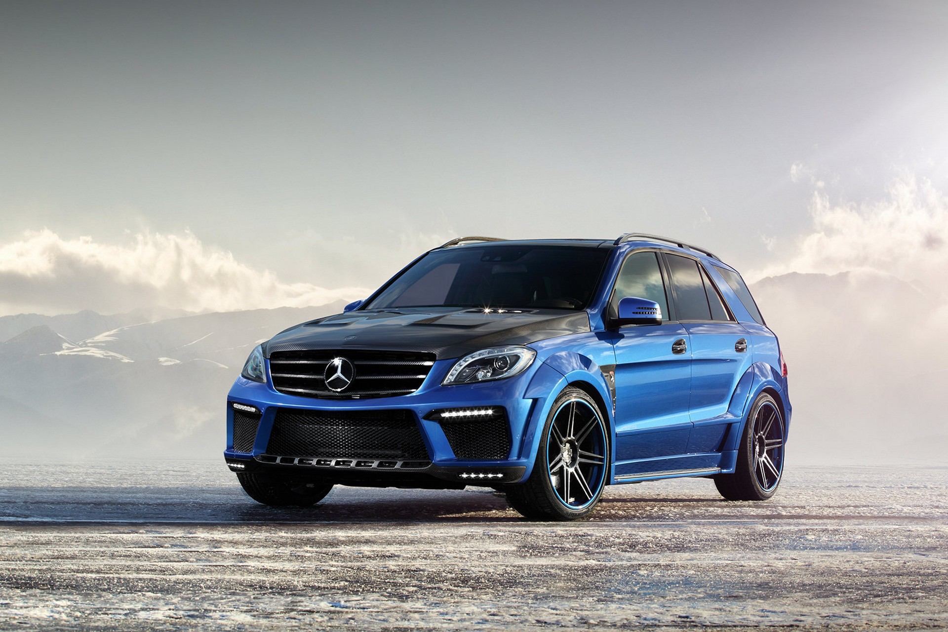Mercedes benz ml 63 amg inferno topcar for Mercedes benz amg 63