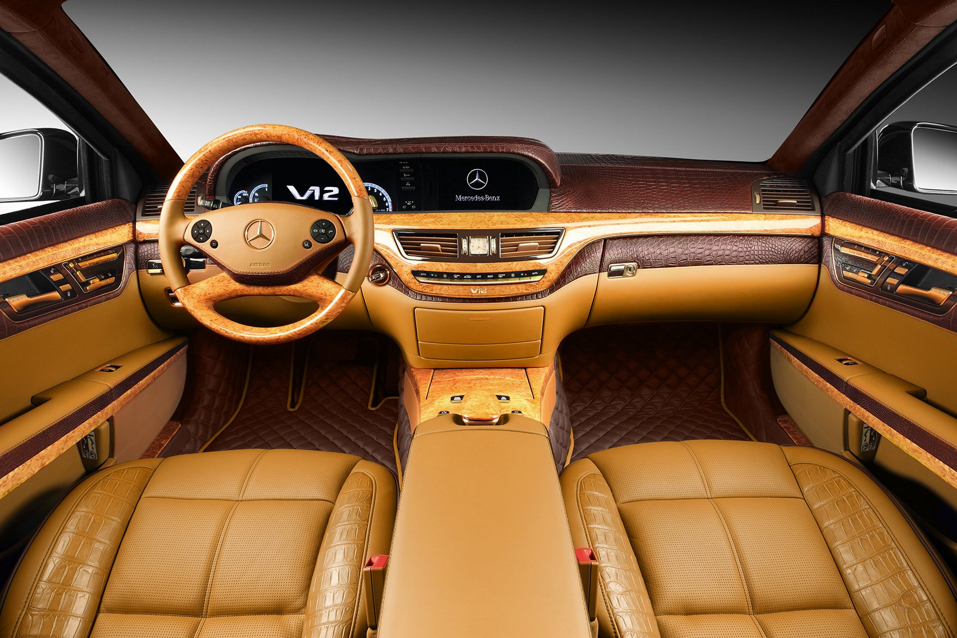 Interior Mercedes Benz S600 Guard W221 Topcar