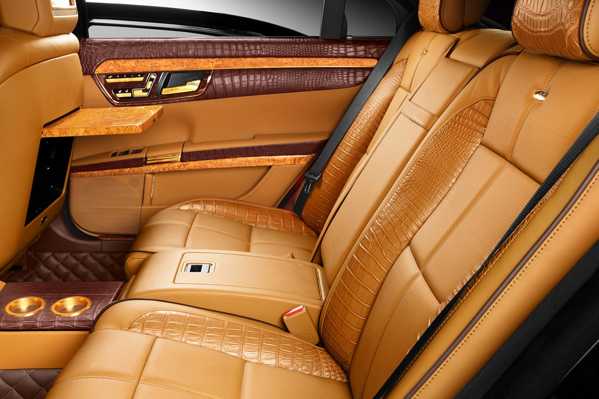 Interior Mercedes Benz S600 Guard W221 Topcar
