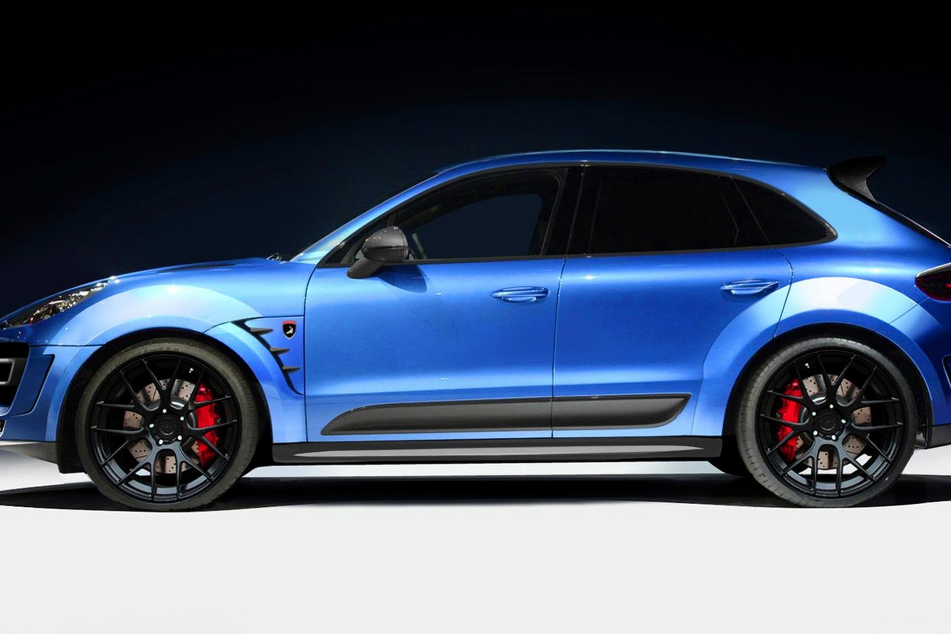 Tuning Porsche Macan Turbo Ursa Topcar
