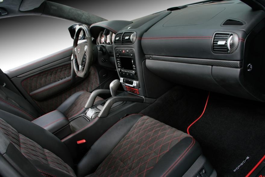 Porsche cayenne topcar gtr 957 01 25 interior topcar Porsche cayenne interior parts