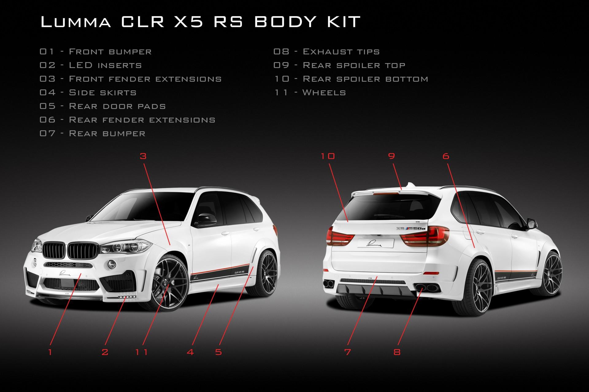 Red X5 Bmw >> Tuning BMW X5 (F15) - Lumma CLR X 5 RS / TopCar