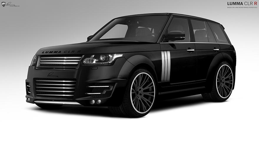 Tuning Range Rover From Lumma Design Topcar