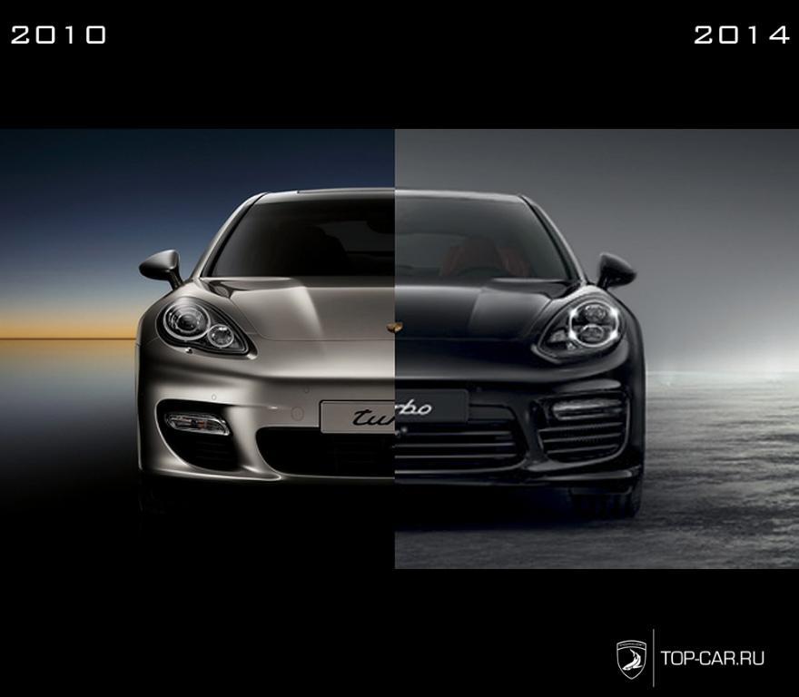 Program restyling Porsche Panamera 2010 model year in the ...