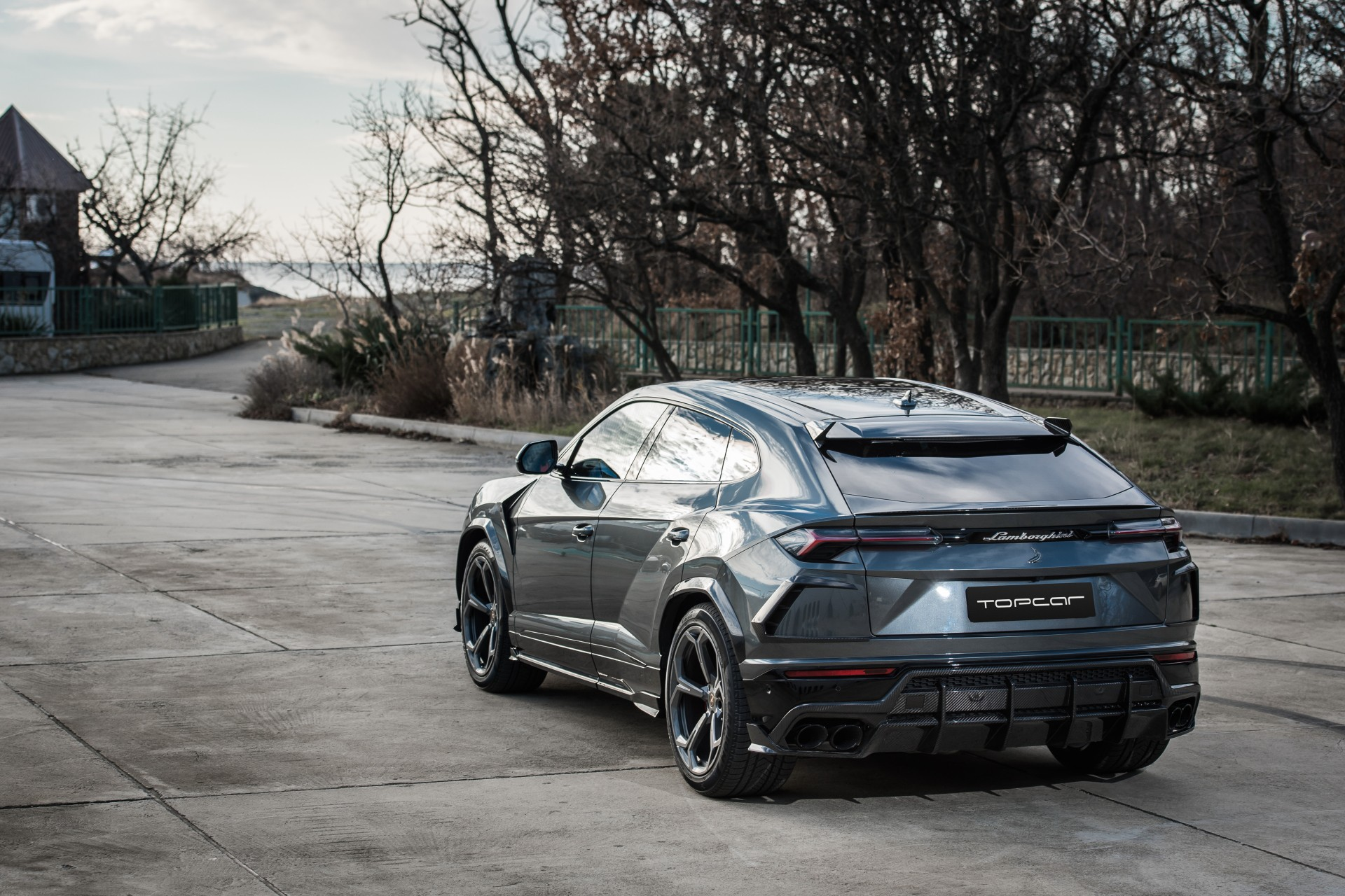 Range Rover Wheels >> Lamborghini Urus Grey TOPCAR DESIGN / TopCar