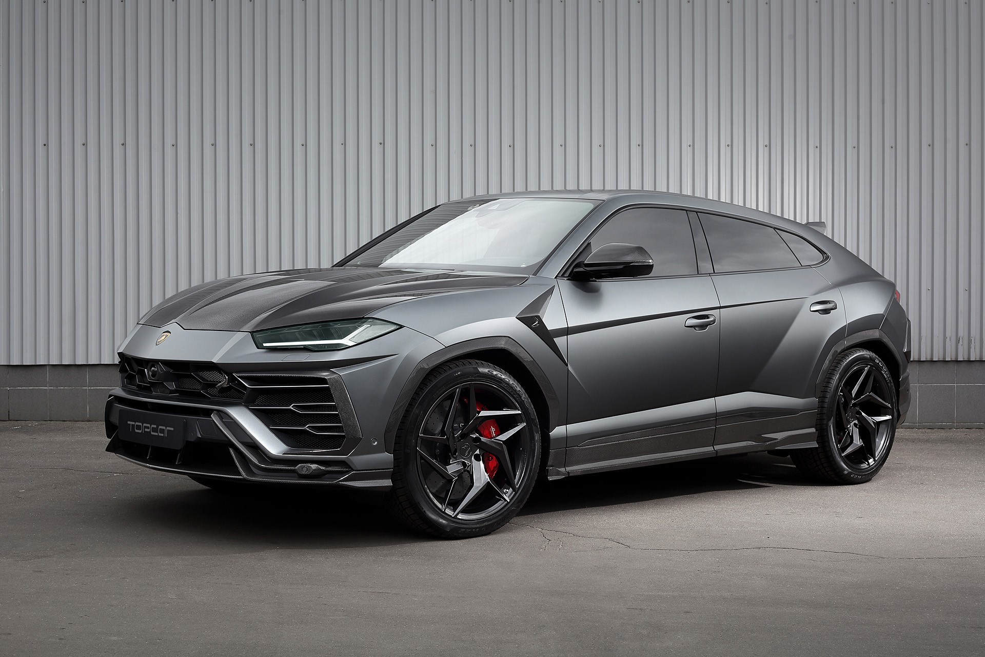 Our Newbie Lamborghini Urus In Matte Grey Color With The Original Carbon Package From Lamborghini Topcar