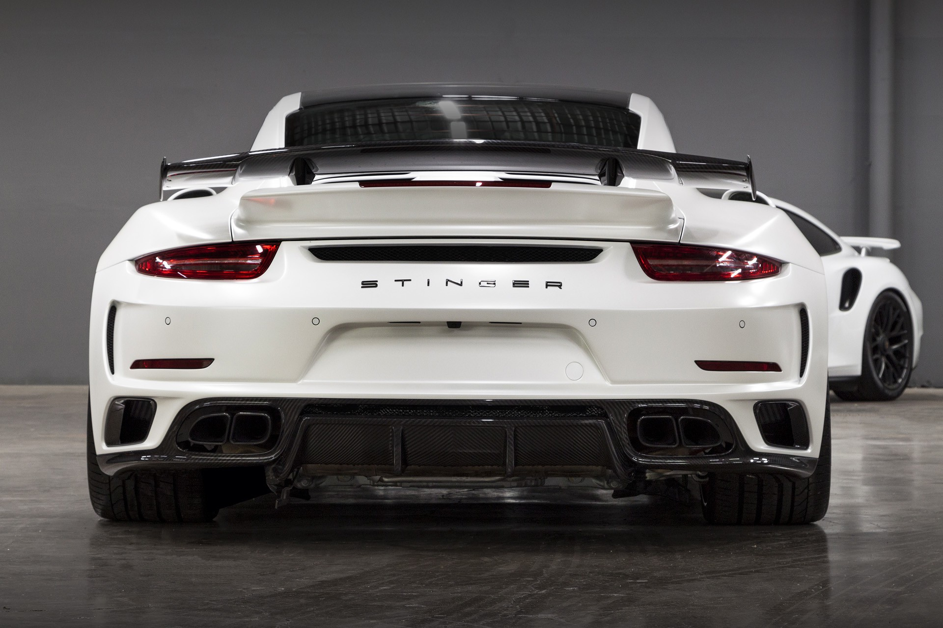 Porsche 991 Turbo S Stinger Gtr Usa Topcar