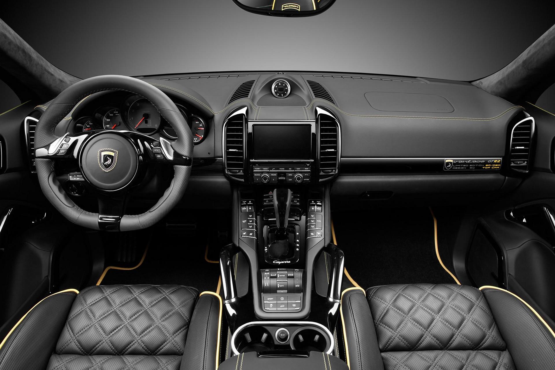 Interior porsche cayenne topcar gt 958 1 20 50 topcar Porsche cayenne interior parts