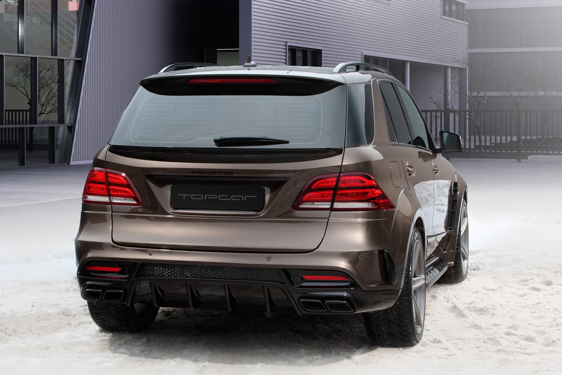 Mercedes benz gle wagon inferno brown topcar for Brown mercedes benz