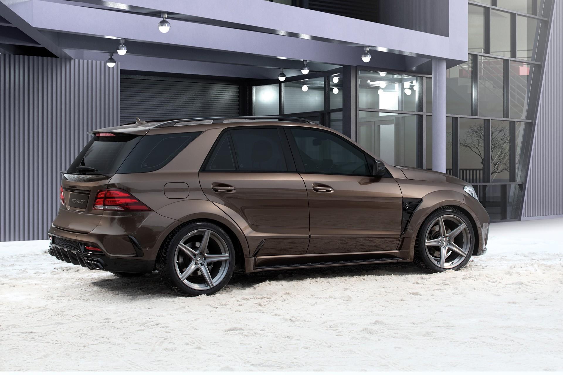 Mercedes Benz Gle Wagon Inferno Brown Topcar