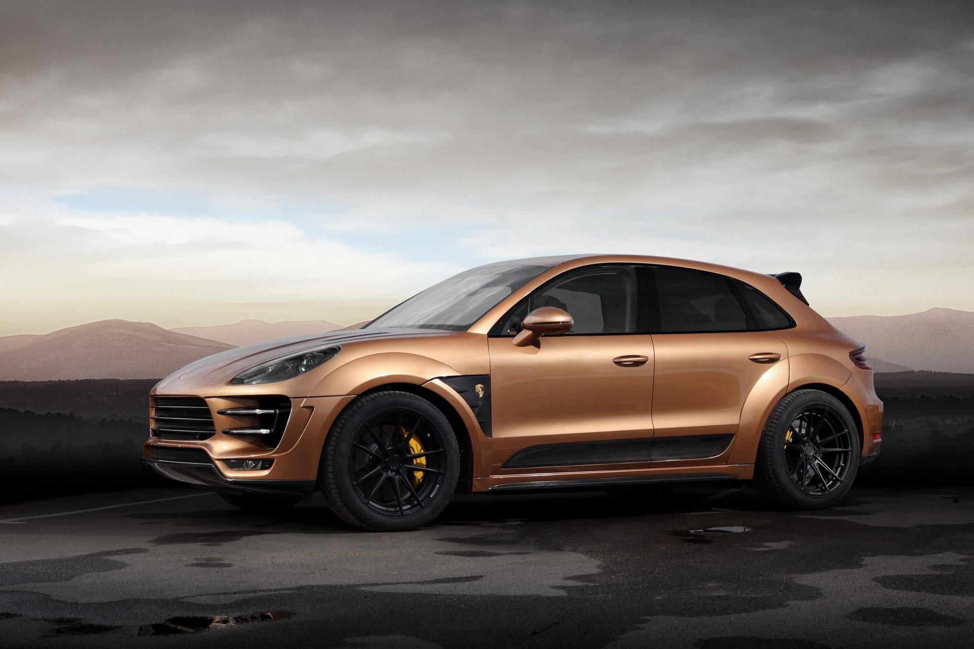 Porsche Macan Ursa Aurum Metallic Topcar