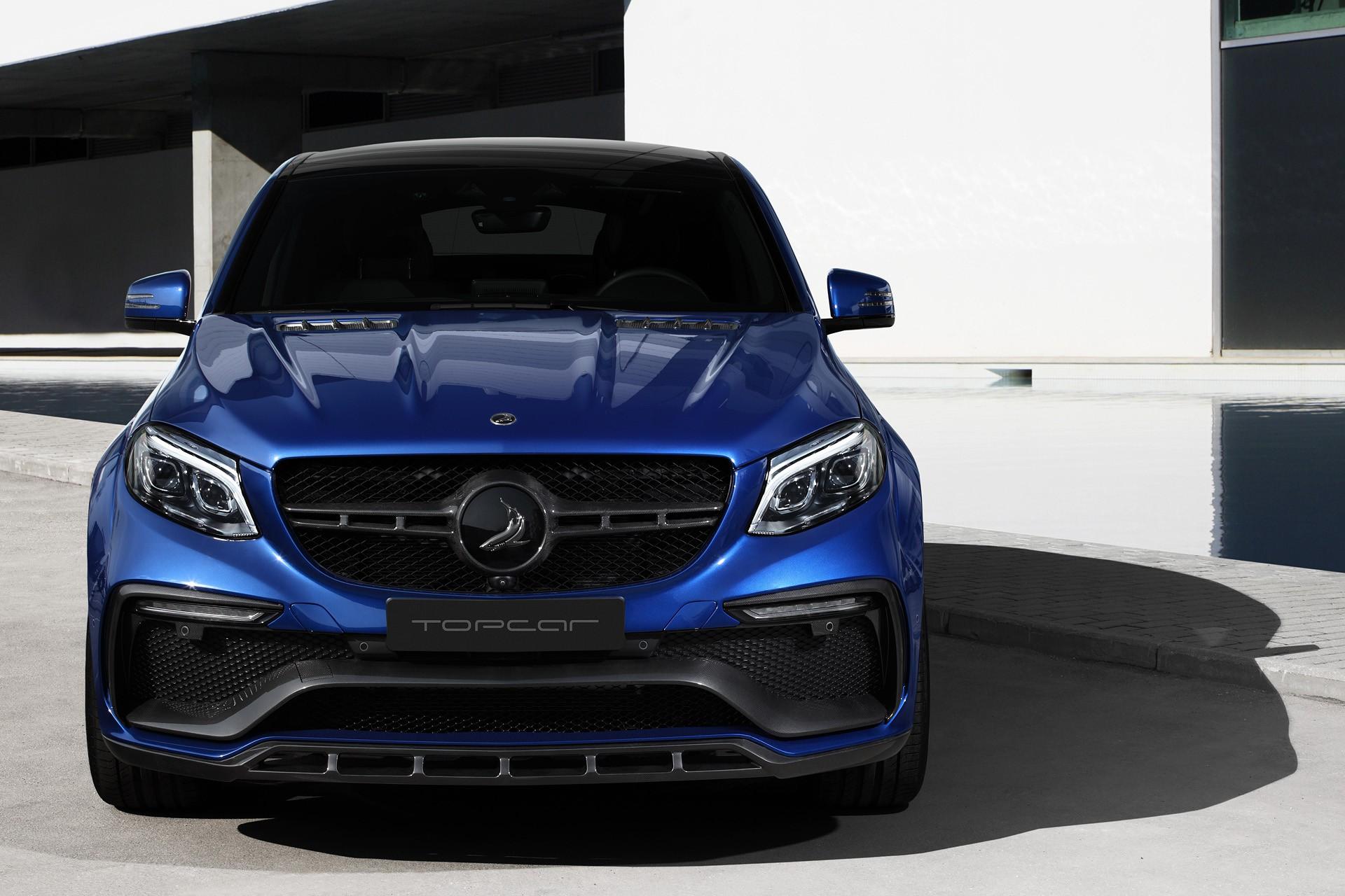 Mercedes-Benz GLE Coupe INFERNO - Blue Gem / TopCar