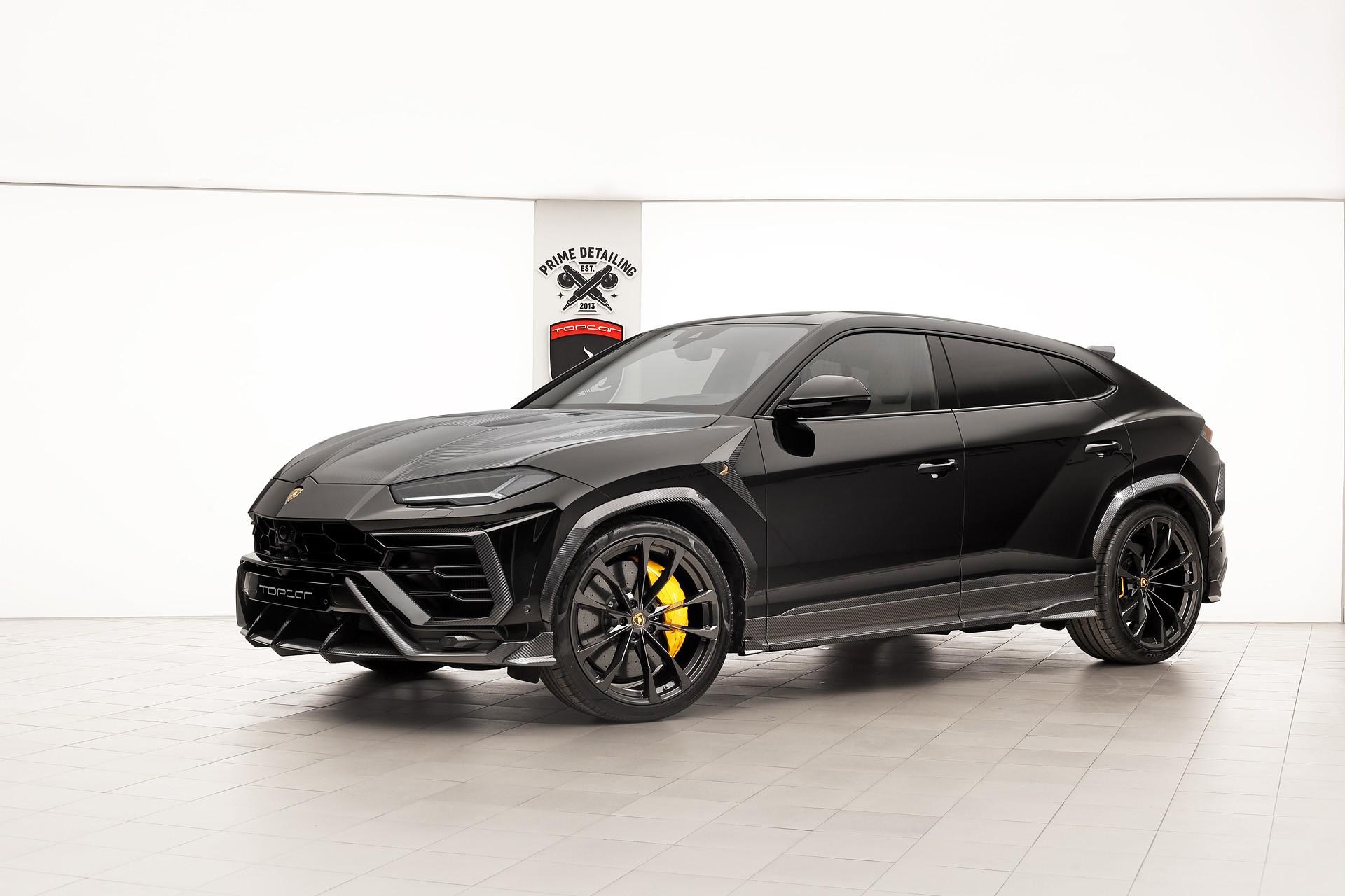 Lamborghini Urus Black Topcar Design Topcar