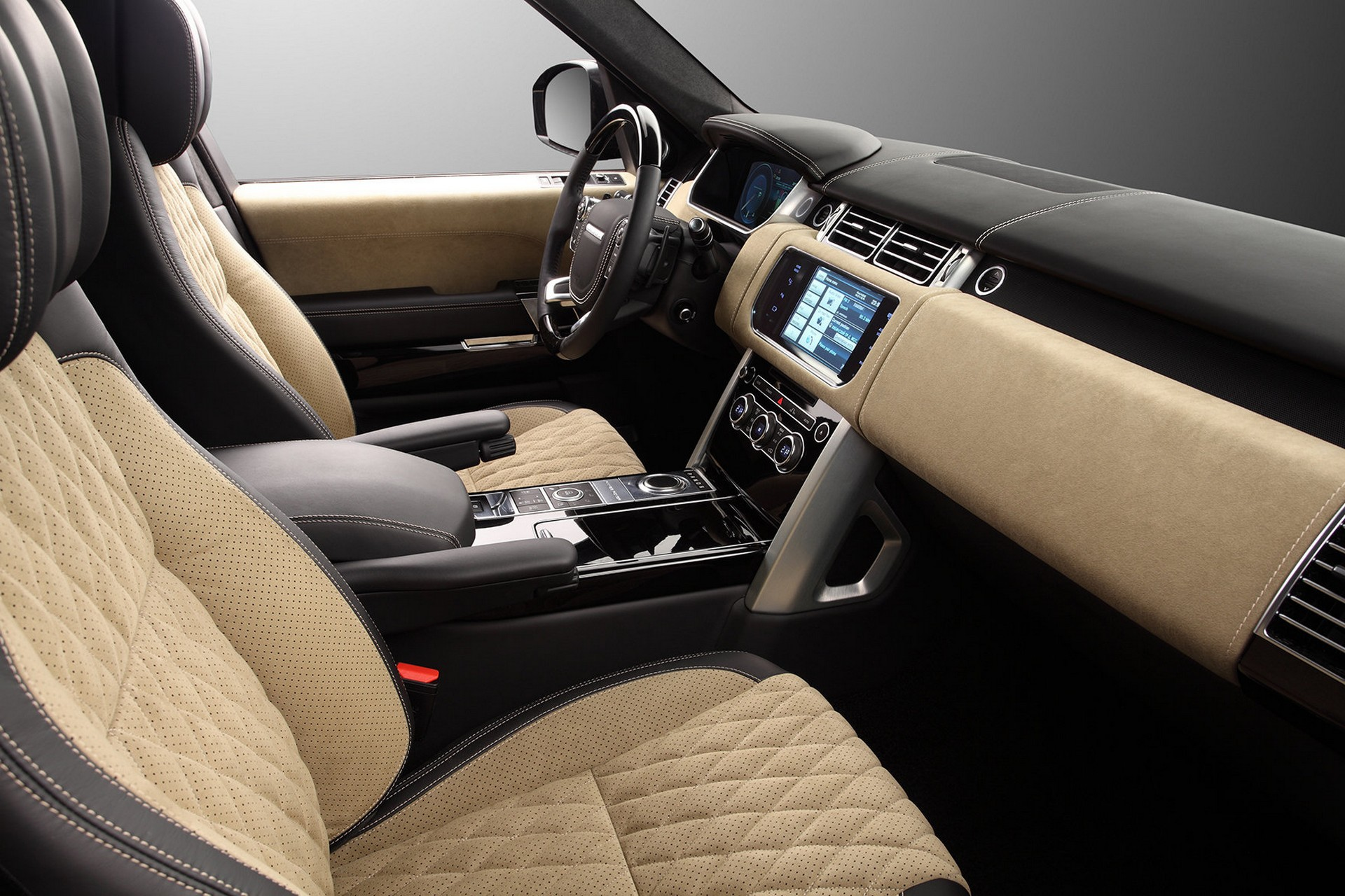 Interior Range Rover Vogue 2013 Lumma Clr R Topcar