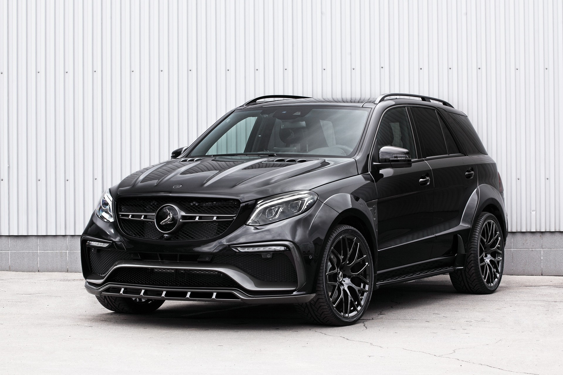 Mercedes benz gle wagon 43 amg inferno black topcar for Mercedes benz tuning parts
