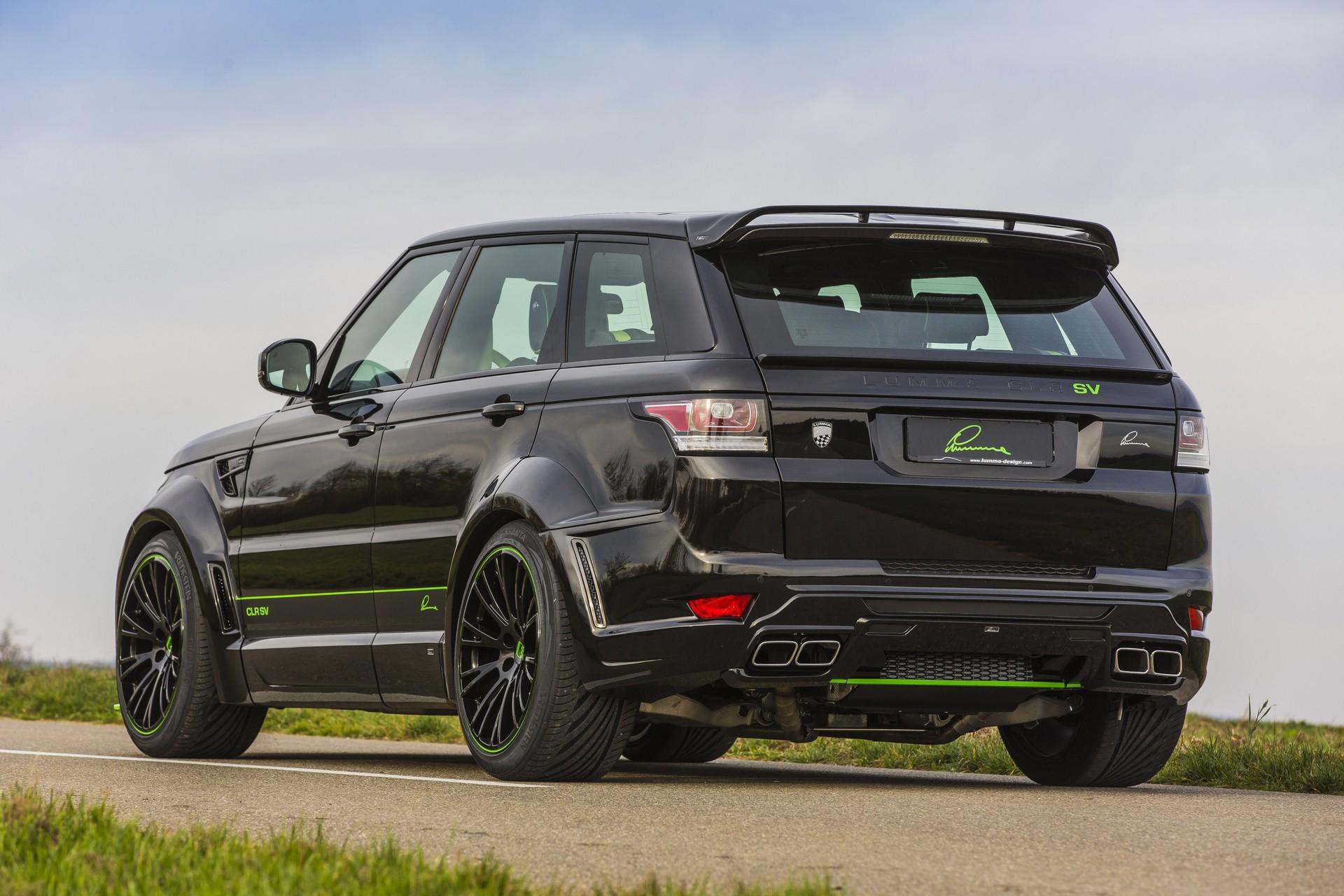 LUMMA CLR SV body styling kit for the Range Rover Sport / TopCar