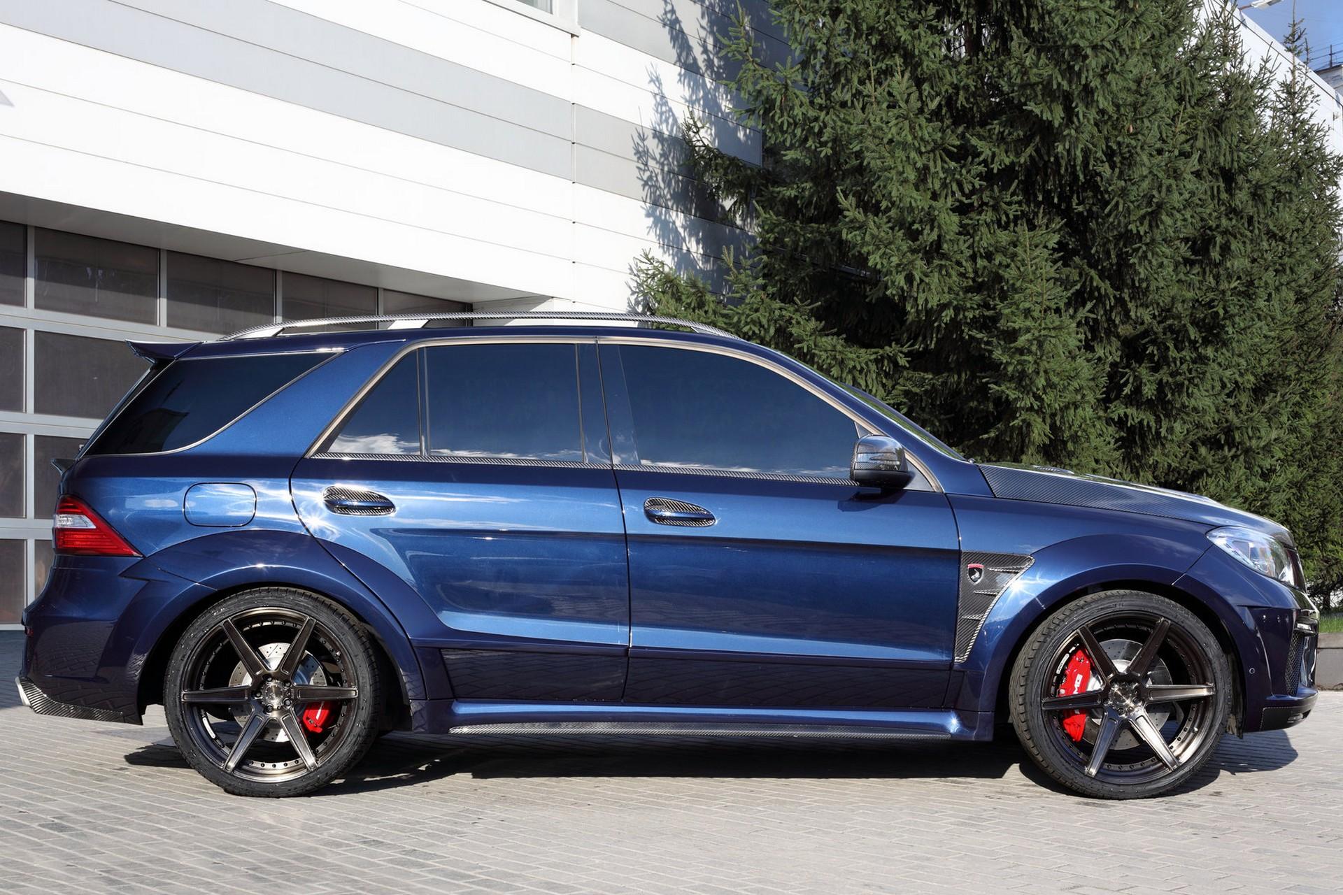Mercedes Benz Ml63 Inferno Dark Blue Topcar