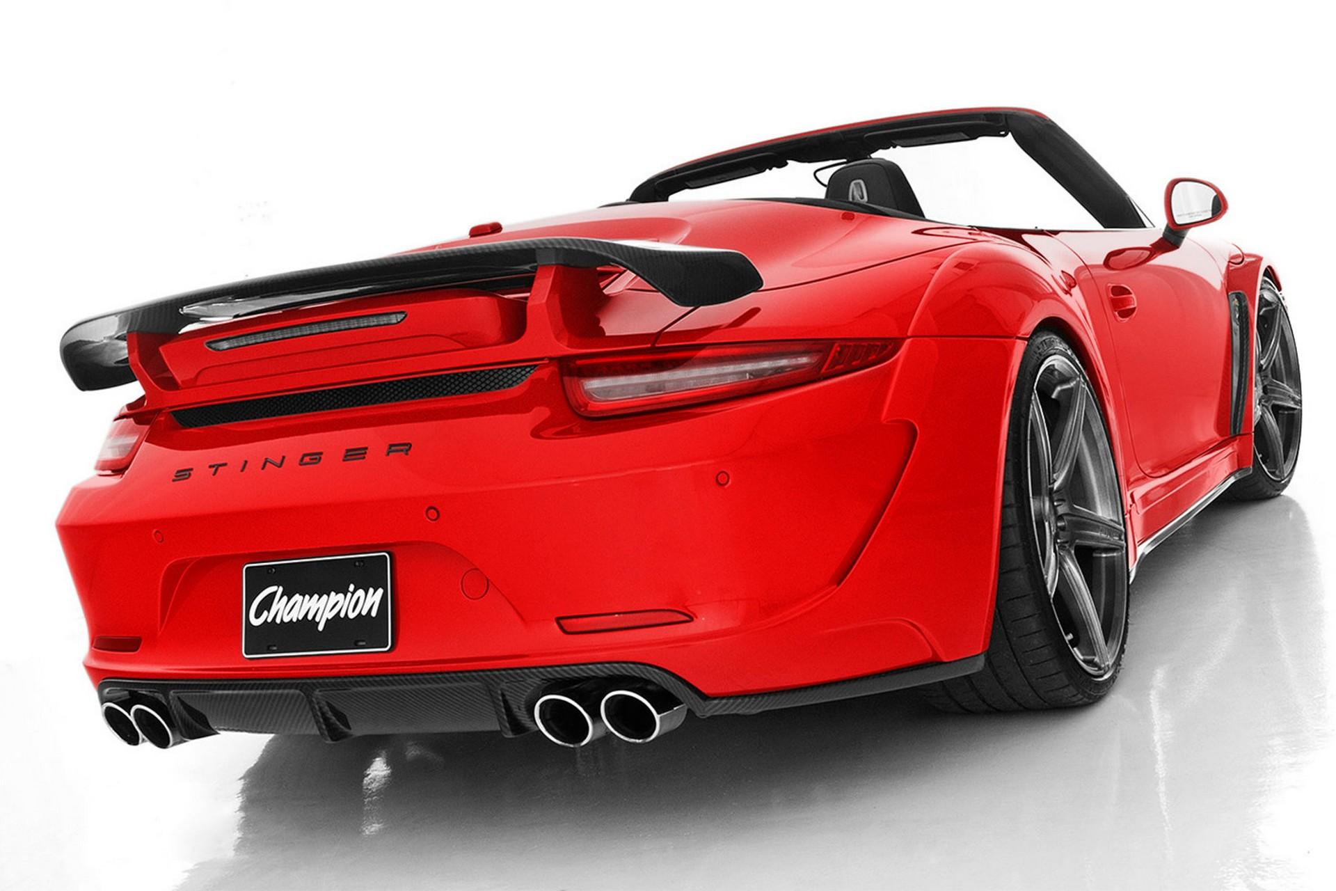 Porsche 911 Champion Topcar