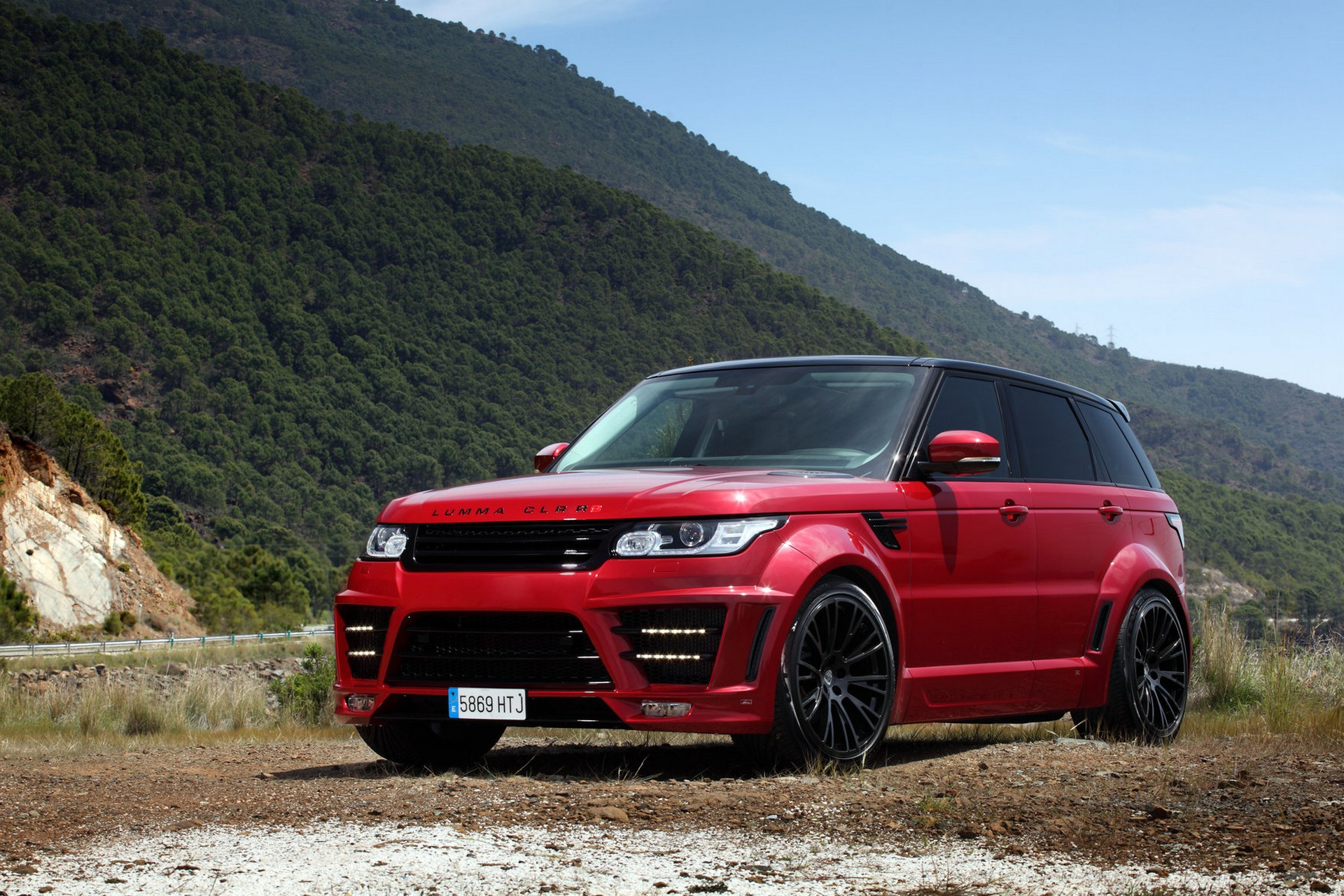 Range Rover Sport Lumma CLR RS Red  TopCar