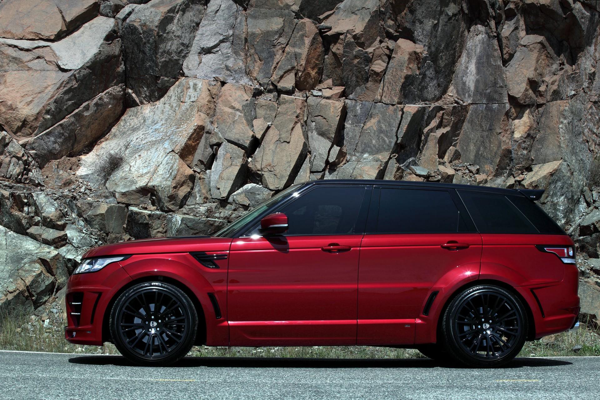 Range Rover Sport Lumma CLR RS Red / TopCar
