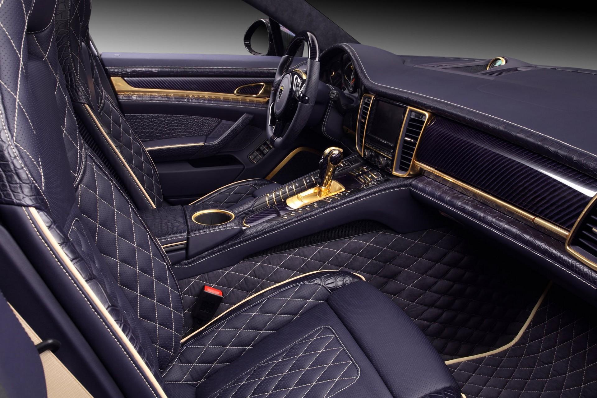 2014 porsche panamera interior car tuning -  Porsche Panamera Stingray Gtr Special Edition