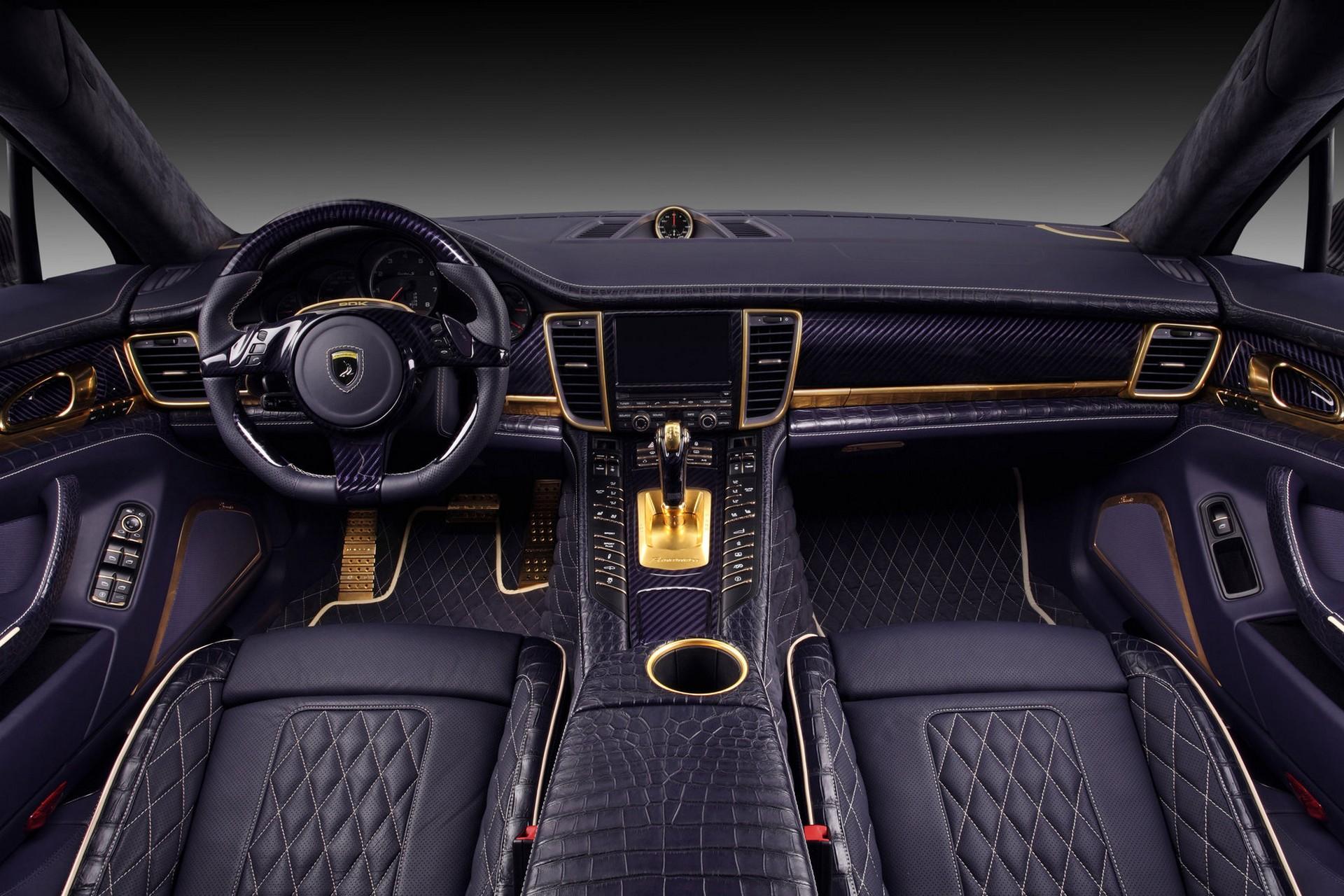 2014 porsche panamera interior car tuning - Unique Approach