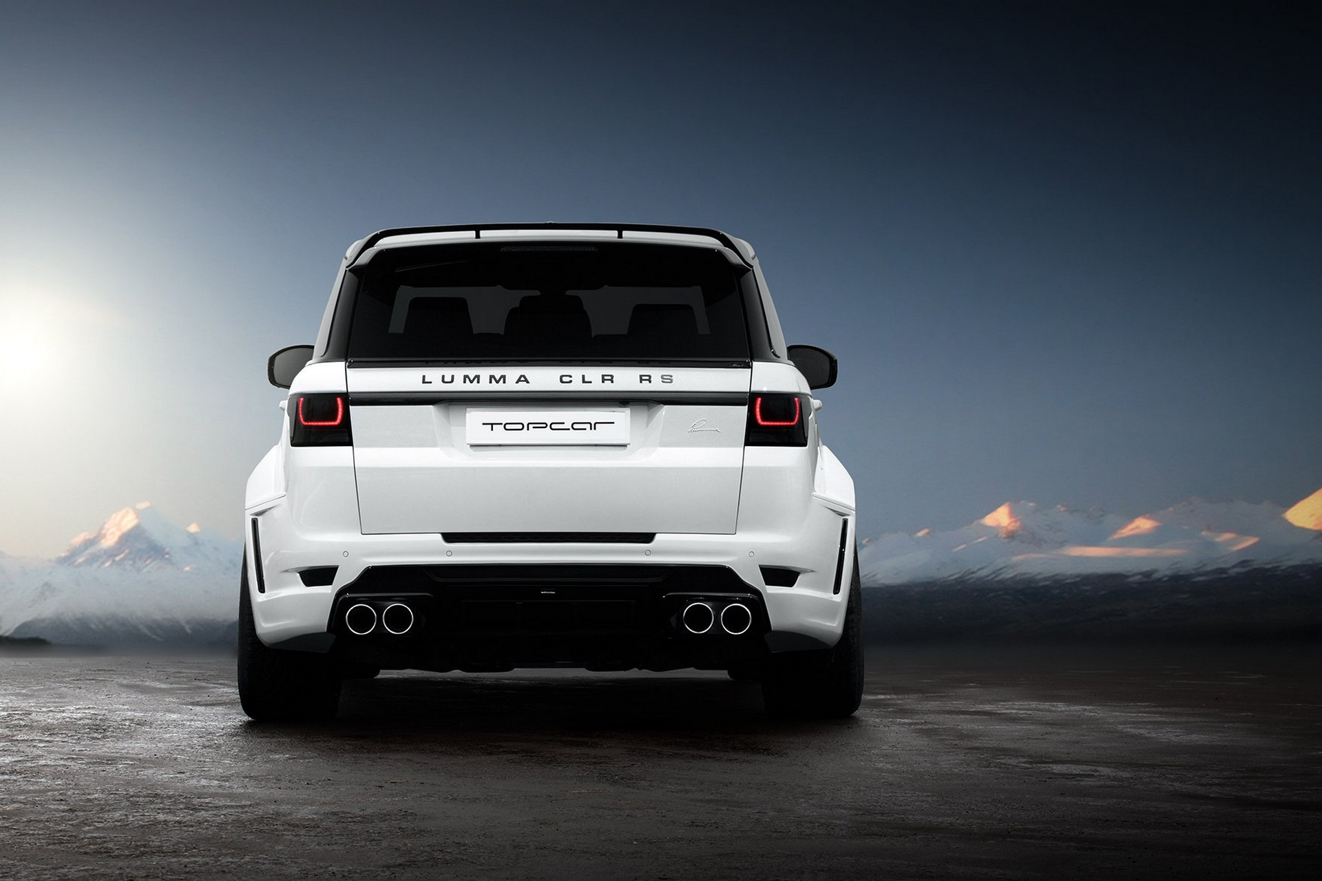 Range Rover Sport Lumma Clr Rs Topcar