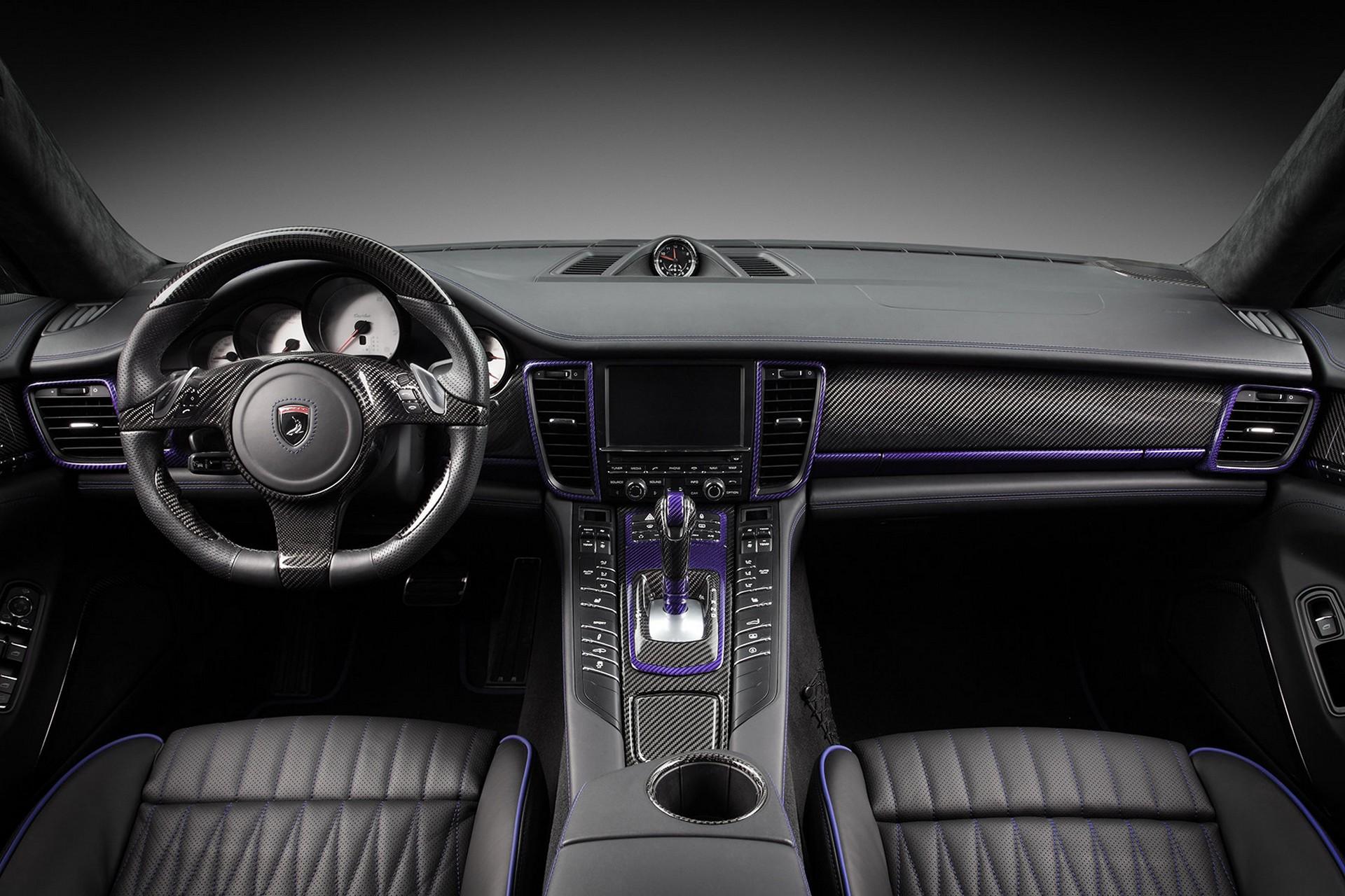 2014 porsche panamera interior car tuning -  Porsche Panamera Stingray Gtr 2014