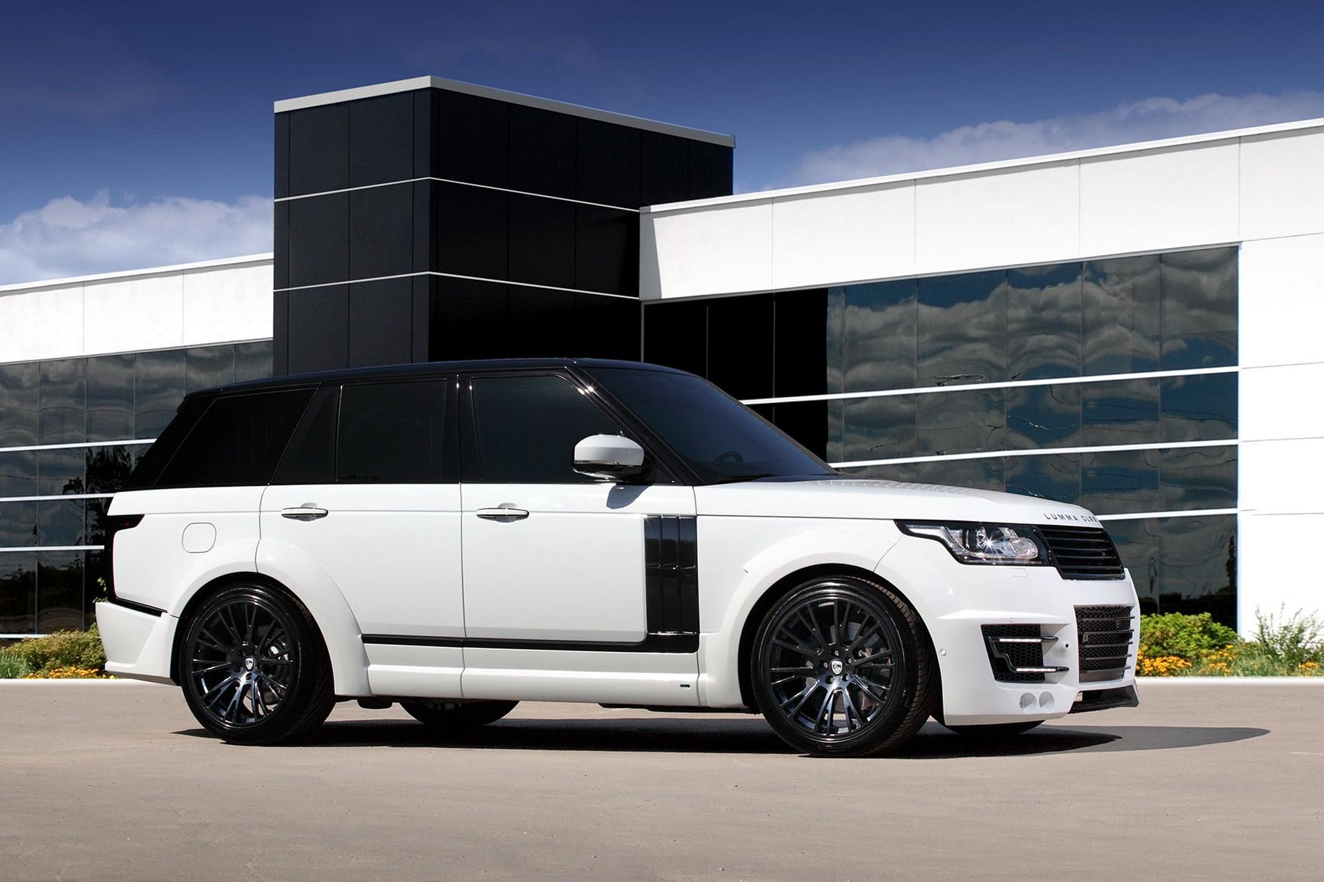 range rover vogue 2013 lumma clr r white topcar. Black Bedroom Furniture Sets. Home Design Ideas