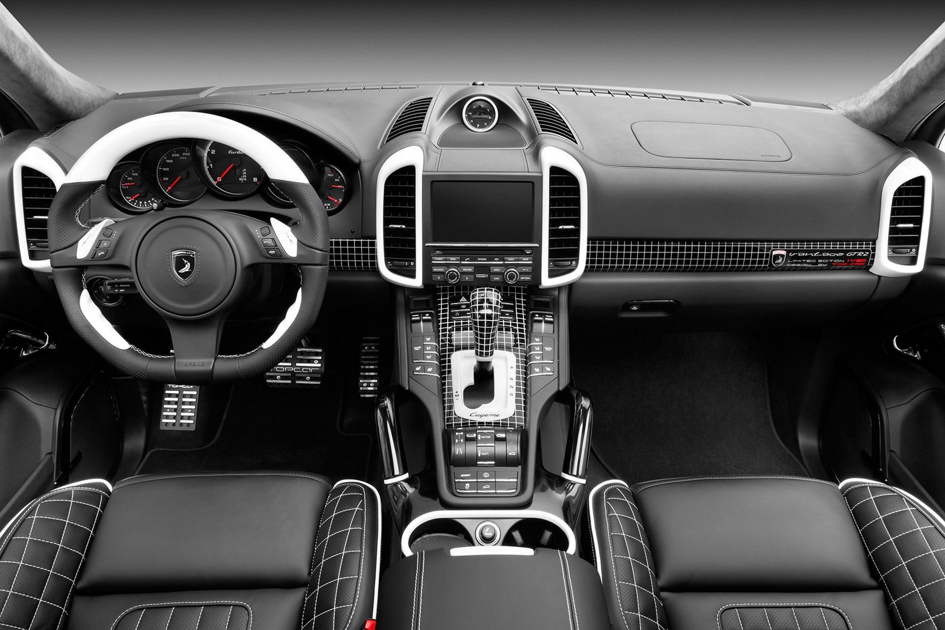 Porsche cayenne topcar gtr 958 1 11 50 interior topcar Porsche cayenne interior parts