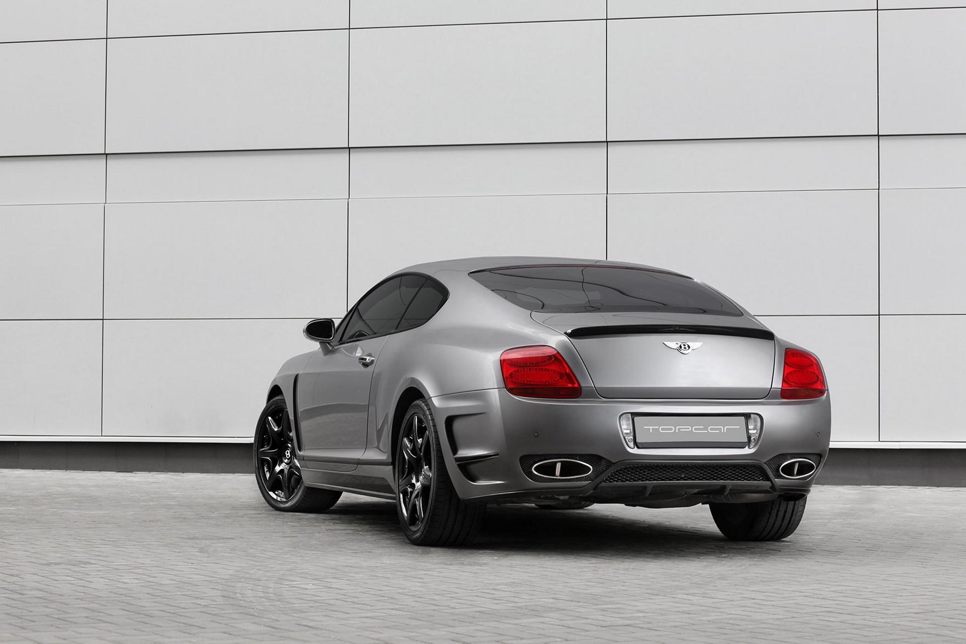 Bentley Continental Gt Bullet Grey Topcar