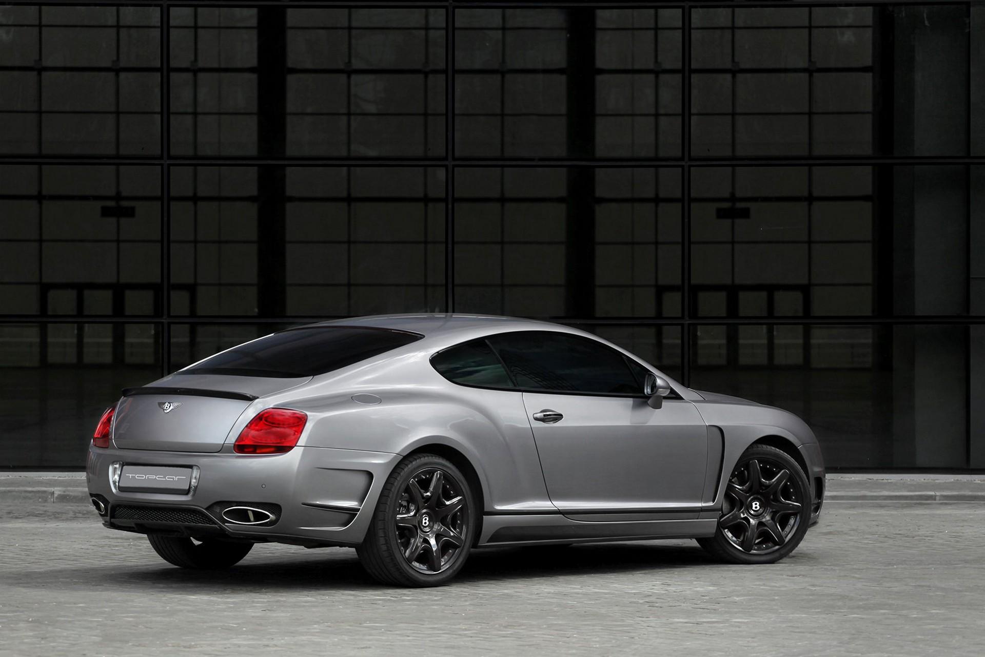 Bentley Continental GT Bullet Grey / TopCar