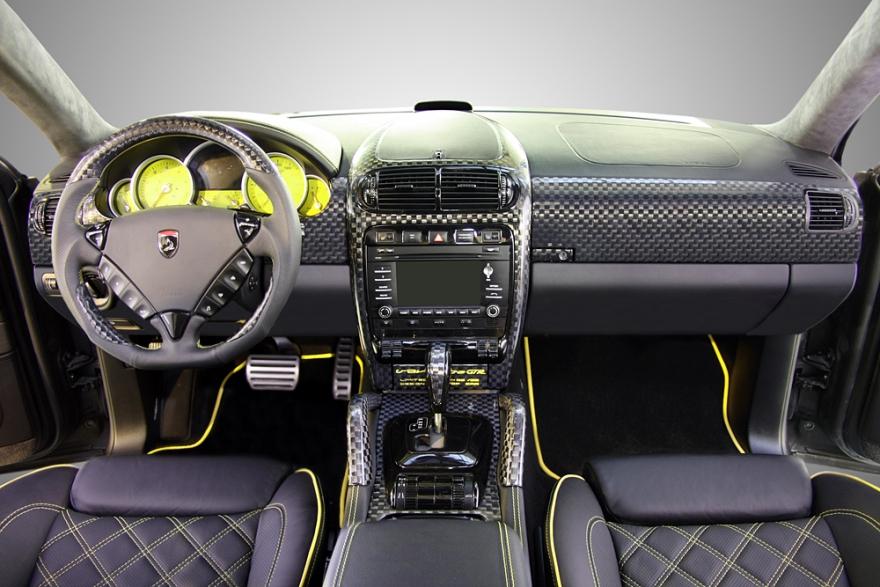 Porsche cayenne topcar gtr 957 02 25 interior topcar Porsche cayenne interior parts