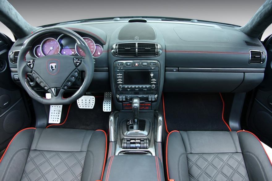 Porsche cayenne topcar gtr 957 05 25 interior topcar Porsche cayenne interior parts