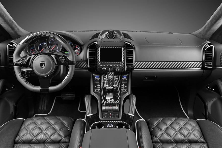 Porsche cayenne topcar gt 958 1 interior topcar Porsche cayenne interior parts