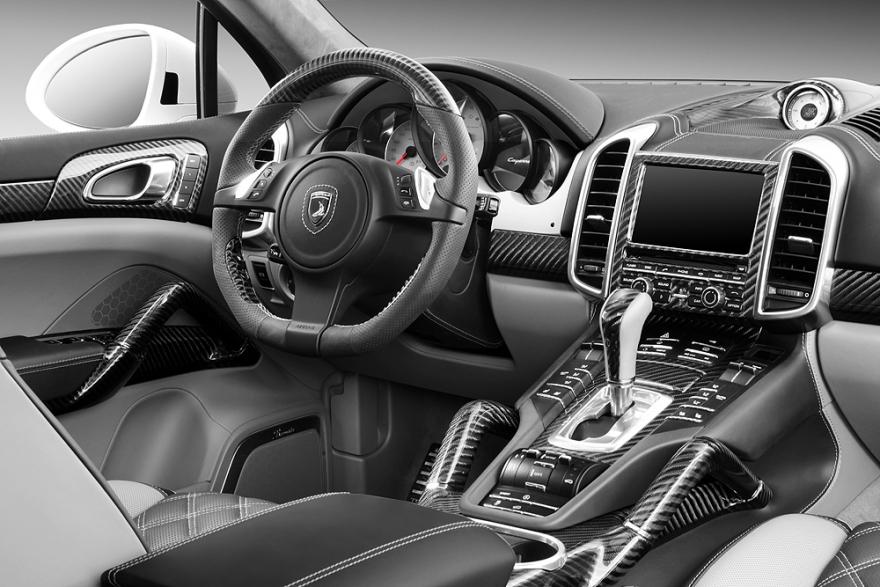 Porsche cayenne topcar gtr 958 1 06 50 interior topcar Porsche cayenne interior parts