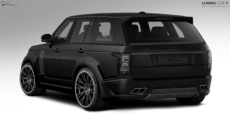 Tuning Project Lumma Clr R Range Rover Topcar