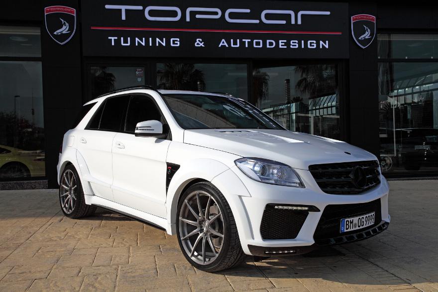 Mercedes-Benz ML 350 BlueTEC 7G White INFERNO / TopCar
