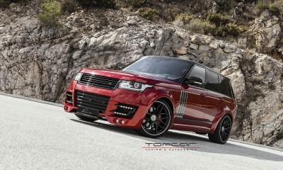 Tuning Range Rover Vogue Lumma Clr R Topcar